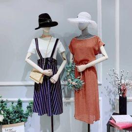 韩版时尚女装曼妙衣舍库存尾货服装背心女装牛仔短裤