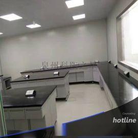 宁德漳州实验室操作台 钢木中央实验台 耐腐蚀耐酸碱