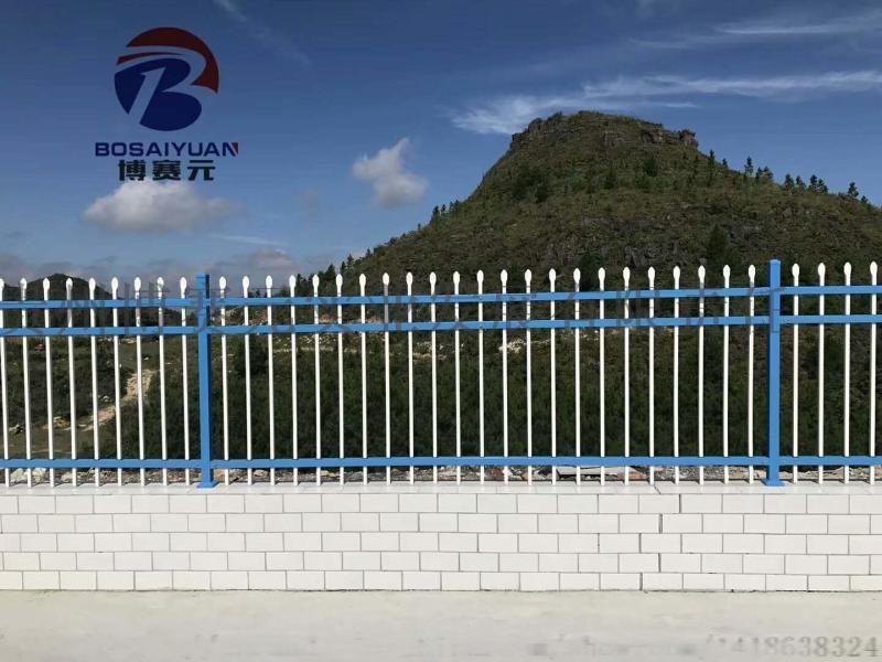 贵州锌钢护栏厂家直销遵义园区围墙护栏