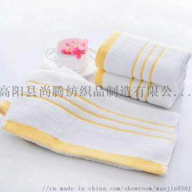河北高阳 厂家直销 一次性毛巾 白度好 不掉毛
