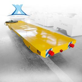 15T蓄电池无轨胶轮电动平车搬运车电动平板牵引车轨道平车地轨车