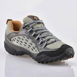 戶外越野跑鞋登山鞋速幹低幫網面透氣防滑旅遊徒步涼鞋男夏網紗靴
