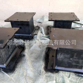 生产供应 钢板橡胶减震垫 钢板橡胶减震台 钢板橡胶减震器定制