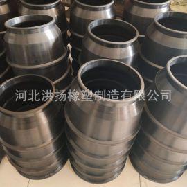 生產定制 橡膠防塵護套 大口徑橡膠護套 圓筒式橡膠護套 可定做