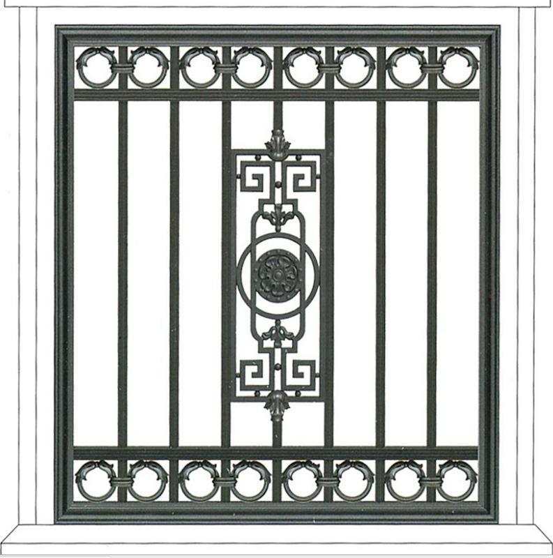 定製仿古鋁窗花廠家直銷木紋鋁合金隔斷窗花定製