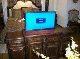 液晶电视升降架 无线摇控液晶电视升降架 智能电动升降电视机架