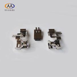 厂家直供瑞士排插铜件 国标插座铜 英式开关铜片 欧式插座接地铜件 智能插座配件 可定制