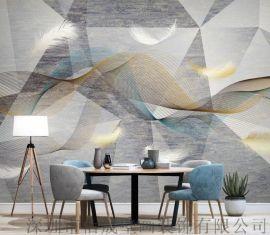 背景墙壁画定制厂家 主题酒店酒吧壁画 墙布装饰画