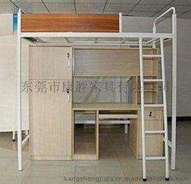 珠海市学生公寓床-  宿舍连体公寓床
