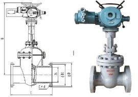 专供矿用Z941H-40C DN200型电动暗杆闸阀