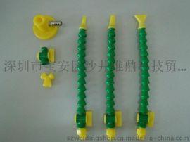供应可调塑料PP冷却管, 万向喷油管 机床塑料喷油管