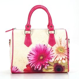 玫瑰有约SM002菊花数码印花枕头包,休闲包,时尚定型包
