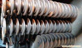 【厂家直销】 风机轴盘 翻砂 风机配件 可订制特殊型号