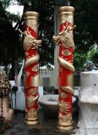 人造石雕花罗马柱 砂岩透光罗马柱装饰 艺术砂岩罗马柱厂家