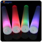 供應演唱會發光用品LED閃光棒電子七彩泡沫棒 廠家供應