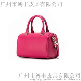 鸿丰皮具新款女包贴牌皮包定制批量加工品牌女包代工
