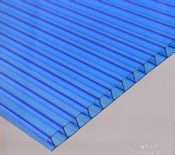 宝蓝色阳光板宝蓝色耐力板宝蓝色雨棚板