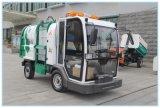 新款--电动翻桶车 新能源四轮高压清洗车 铅酸电池挂桶车 举报