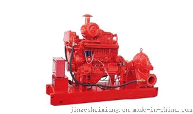 哪余供應天津柴油機消防泵消防雙動力給水設備