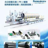 克拉管机器、HDPE缠绕结构壁管材设备