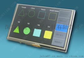 5寸 TFT彩屏含触摸屏 高亮度工业极标准