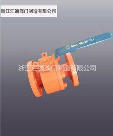 浙江汇通手动空气锻造高压球阀Q41F-250
