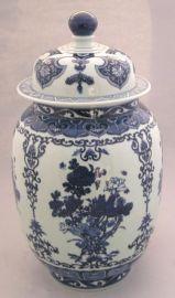 手繪青花瓷花瓶