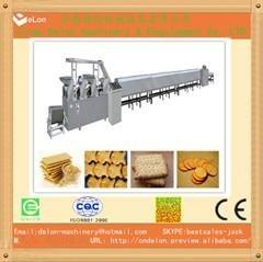 全自动小型饼干生产线