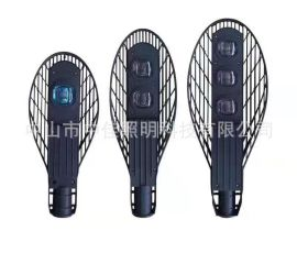 户外led路灯 压铸铝集成双光源网拍灯80W100W高光效网球拍路灯头