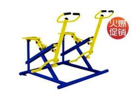 上海健身器材批发 健身器材价格 两联健骑机,两人骑马器