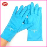 纯色超细纤维珠宝手套,珠宝展示手套可印logo