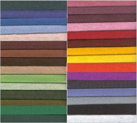 各种颜色无纺布绒棉羊毛毡