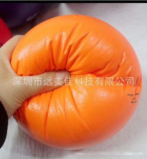海绵球21cm幼儿园室内户外体育运动玩具海绵球