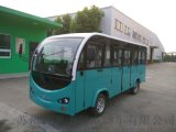 新疆吐魯番利凱士得11座全封閉電動觀光車