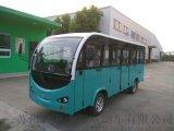 新疆吐鲁番利凯士得11座全封闭电动观光车