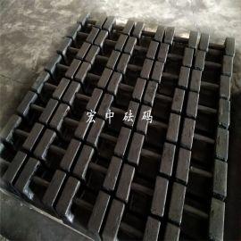 吴忠电梯砝码20千克电梯测试荷载铸铁砝码