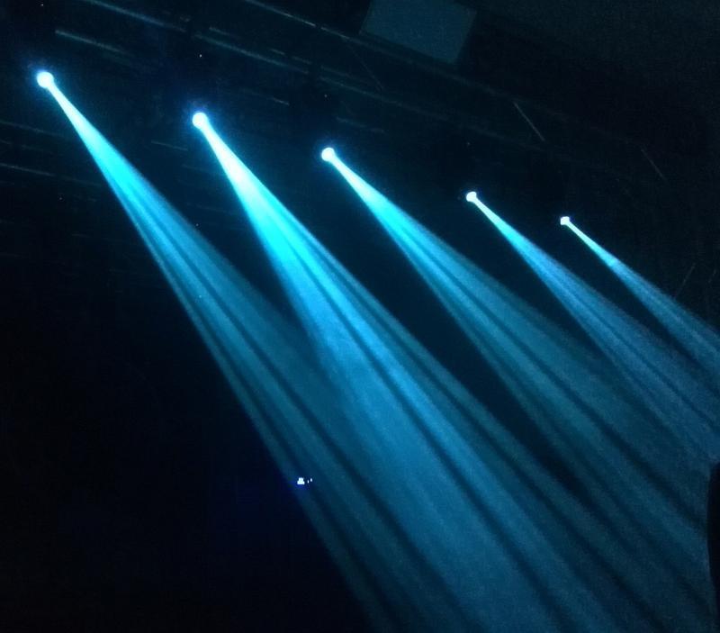 LED30W摇头图案染色灯