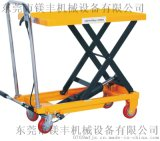 厂家供应350公斤脚踏液压平台车 液压升降平台车