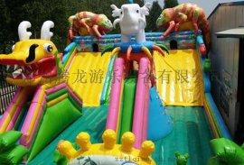 江西儿童充气蹦蹦床批发 儿童充气滑梯价格 充气城堡生产厂家