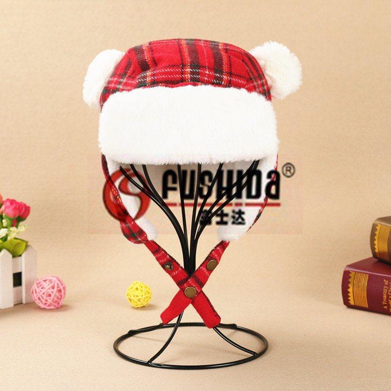 品牌帽子男女風雪帽 羊毛韓版兒童戶外雷鋒帽 寶寶冬季保暖護耳帽