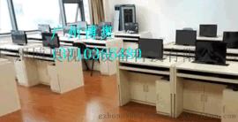 廣州博奧BRZE-2B防作弊升降屏風電腦桌
