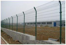 【浸塑】双边丝围栏/鹰潭市人行道防护网/通透性护栏价格/镀锌丝网