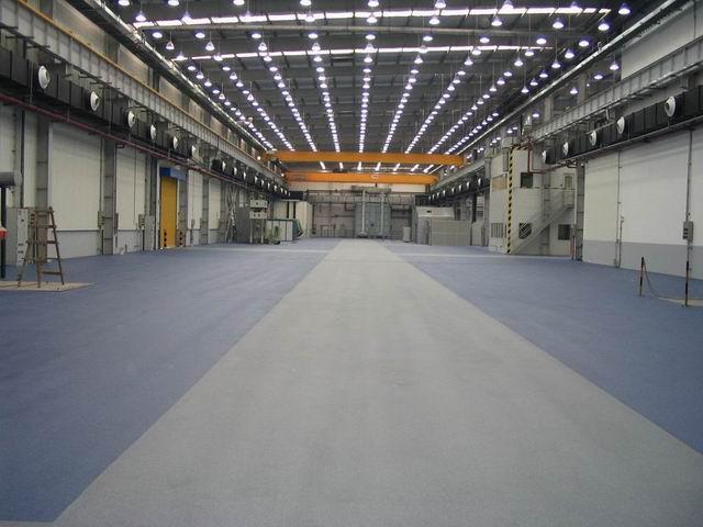 金刚砂耐磨地坪材料的优点