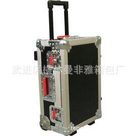 廠家專業定制鋁合金航空鋁箱 高端拉杆箱 大型運輸設備軍用航空箱