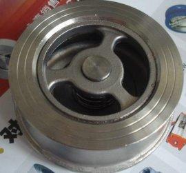 不锈钢H71W精铸型止回阀 ,法兰止回阀