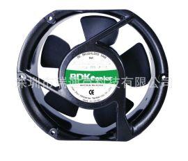 供應17251直流風扇12V24V散熱排風扇工業設備電櫃散熱風扇