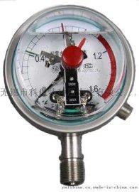 不锈钢耐震电接点压力表,不锈钢充油耐震电接点压力表