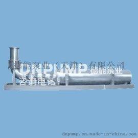 QJF浮筒式多级潜水泵,漂浮在水面上的深井泵