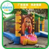 儿童充气床城堡室内外大小型幼儿园滑梯淘气堡家庭用蹦蹦床游乐园