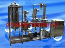河源市超声波提取浓缩罐的八大特点HSCT-G